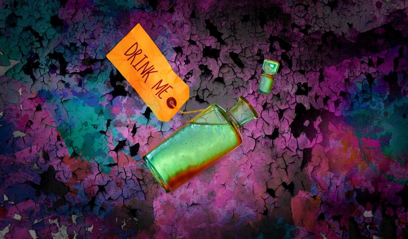 Drink Me - Alice's Adventures Underground (final)