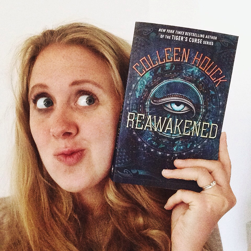 Colleen Houck's Reawakened – a new teen book that ISN'T a dystopia!!